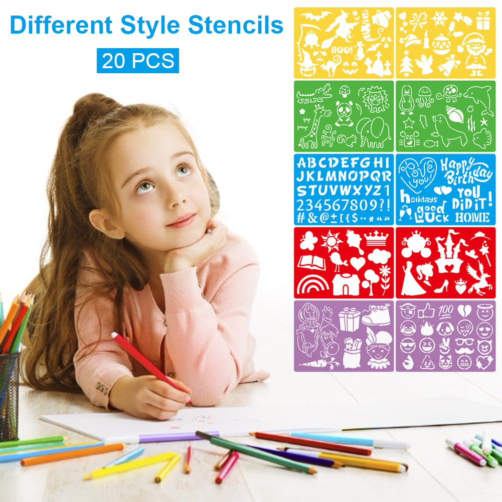 View Drawing Stencils For Kids