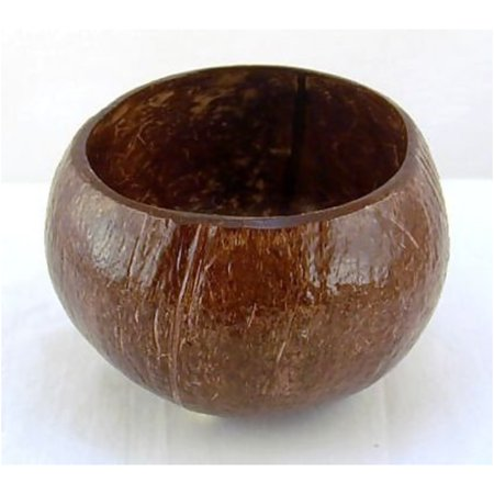 (Hawaiian Style Coconut Cup Bowl 3.5 To 5 Inches)