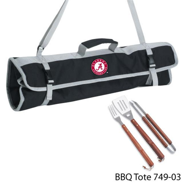 DDI 1481350 University of Alabama 3 Piece BBQ Tote Case Of 8