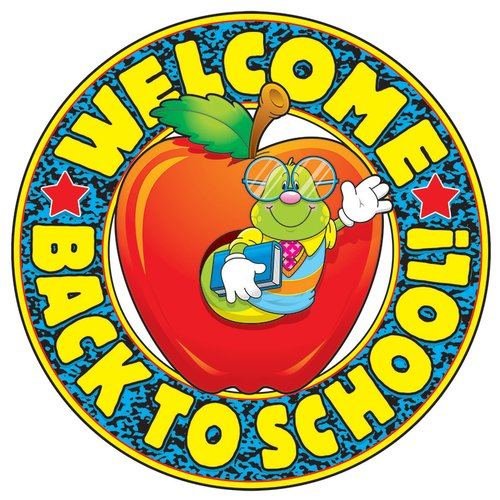 Frank Schaffer Publications/Carson Dellosa Publications Welcome Back to School Bulletin Board Cut Out