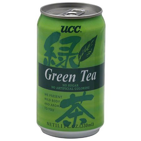 UCC Thé vert, 11,1 fl oz (paquet de 24)