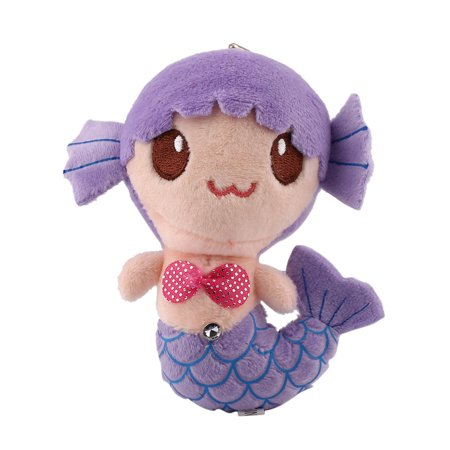 Plush Toys Gift For Children Cute Lovely Plush Princess PP Cotton Toys For Baby Kids Girls The Little Mermaid Stuffed Doll, Purple