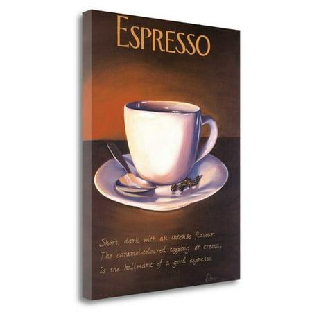 Tangletown Fine Art 'Urban Espresso' by Paul Kenton Graphic Art on Wrapped (Fine Art Express)