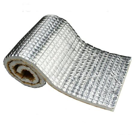 - 236 mil / 6mm Car Auto Vehical Vehical Automotive Firewall Sound Deadener Heat Insulation Deadening Mat Noise Proofing Proof Shield Barrier (45