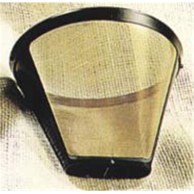 #4 Cone-Style Permanent Coffee Filter-8 to 12 cup capacity