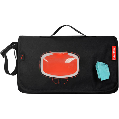 Fisher Price Deluxe Diaper Changer Black and Red