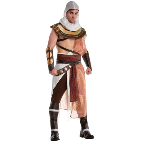 Assassins Creed Bayak Men's Adult Halloween Costume, One Size, (42-44) (Assassini Halloween)