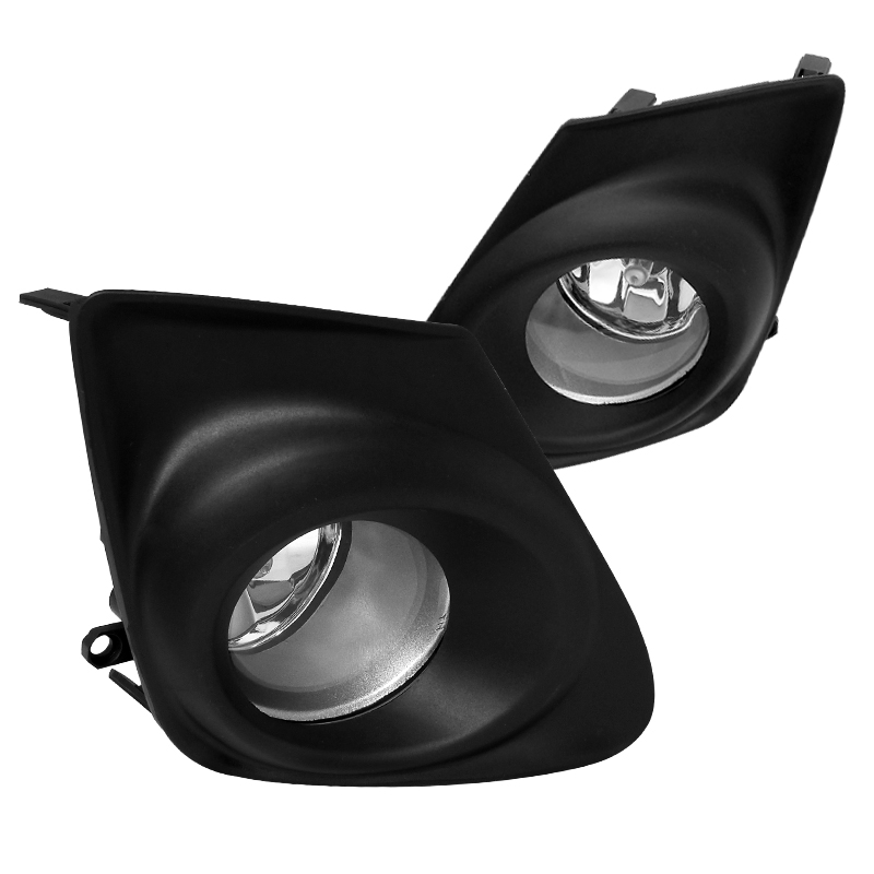Spec-D Tuning 2011-2012 Toyota Corolla Oem Style Fog Lights Clear + Switch 11 12 (Left + Right)