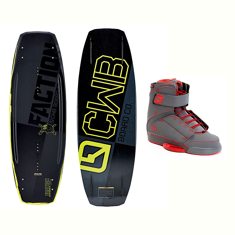 Click here to buy CWB Faction Wakeboard With Odyssey Bindings 2017 by CWB.