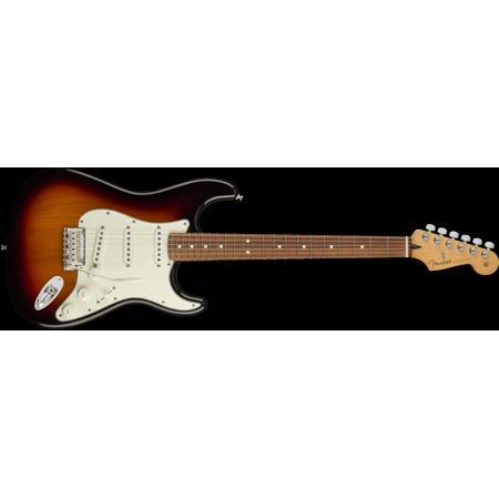 Fender Player Stratocaster, Pau Ferro Fingerboard, 3 Tone Sunburst Finish - (Fender Modern Player Hsh Stratocaster Electric Guitar)