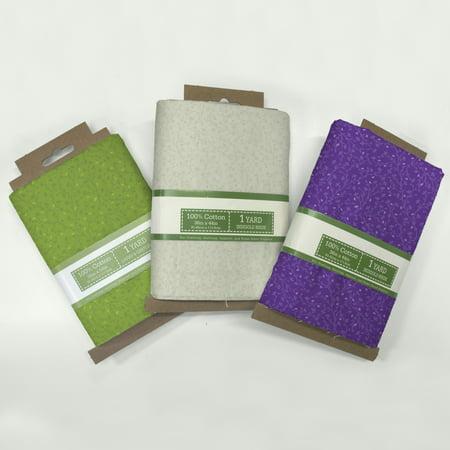 Vine Cotton Fabric (David Textiles Catherine's Vines Cotton 1-Yard Fabric Cut )