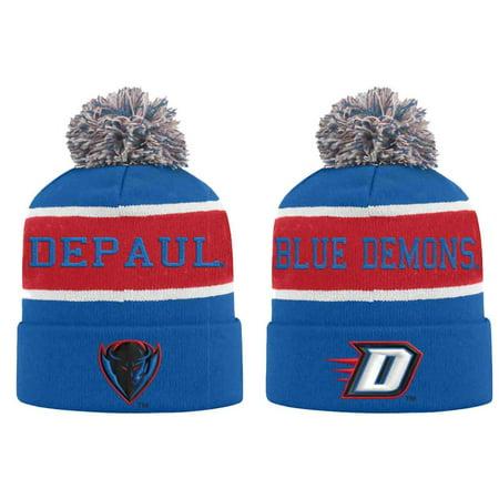 los angeles 0989d d4f43 DePaul Blue Demons Adult NCAA Radius Knit Beanie - Team Color - Walmart.com