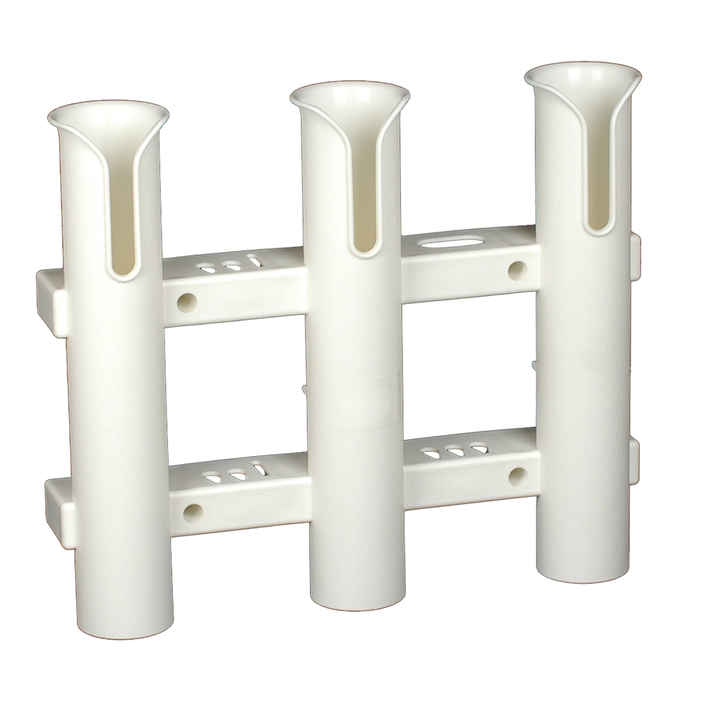 """Click here to buy CE Smith 11"""" x 12-1 2"""" x 1-13 16"""" ID Tournament 3-Fishing Rod Rack by CE Smith."""