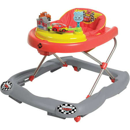 disney cars lightning mcqueen walker with sounds lights. Black Bedroom Furniture Sets. Home Design Ideas