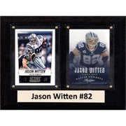 C&I Collectables NFL 6x8 Jason Witten Dallas Cowboys 2-Card Plaque