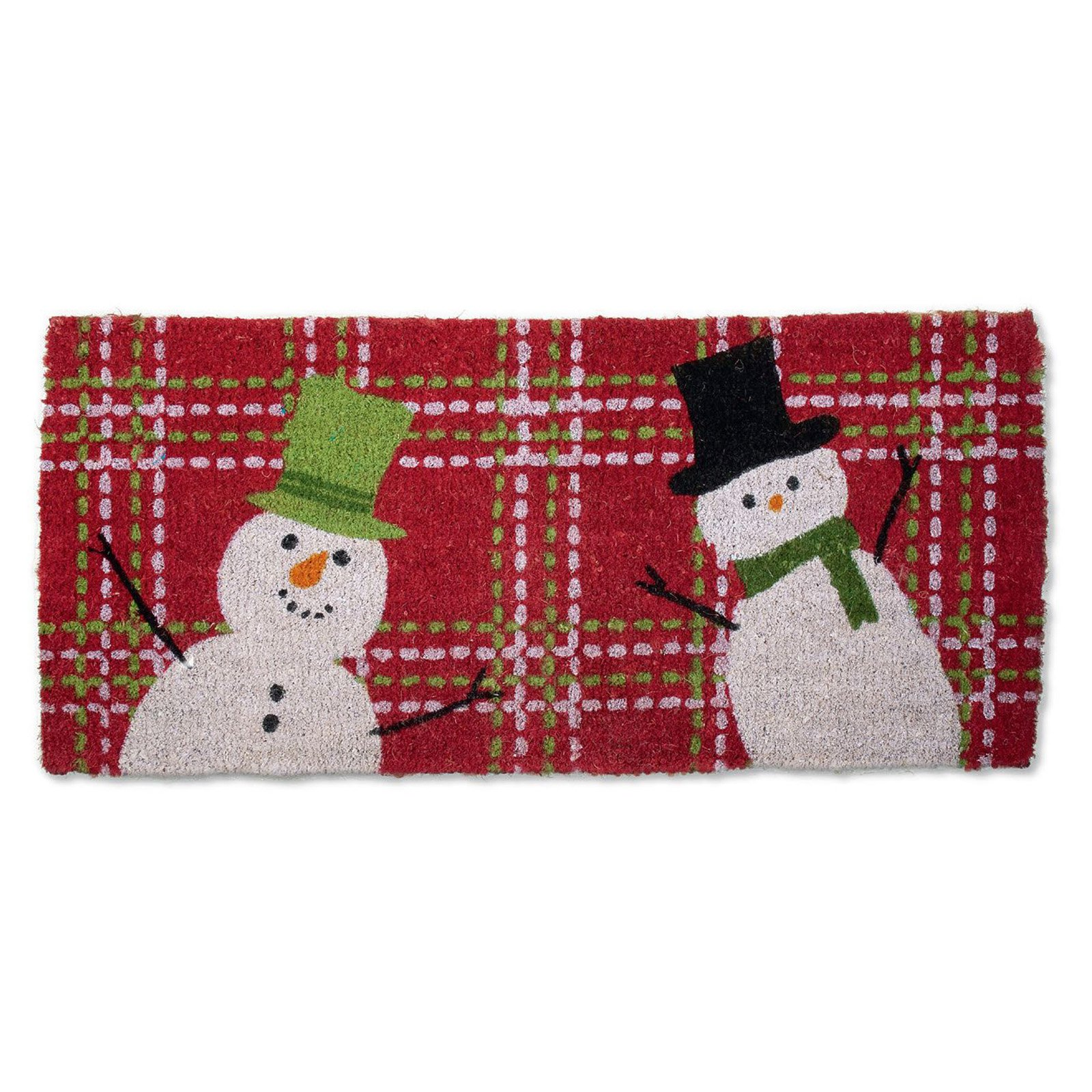 Tag Snowman Estate Coir Doormat