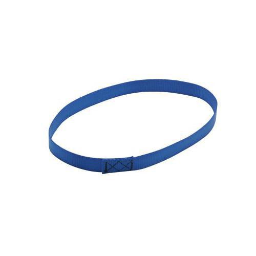 Blue Webbing Loop Wheelchair Tie-Down