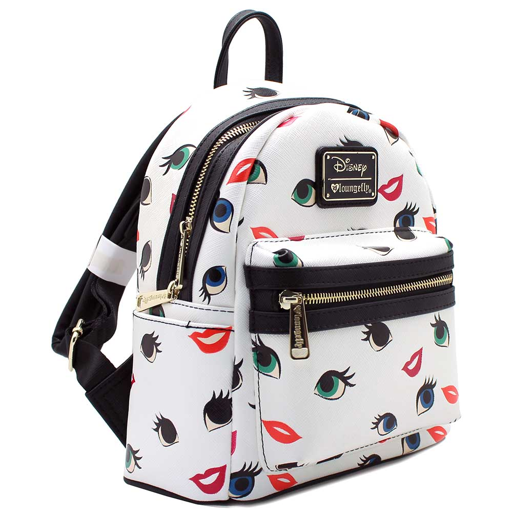 4663141a36 Loungefly - Loungefly x Disney Princess Eyes Lips Mini Backpack -  Walmart.com