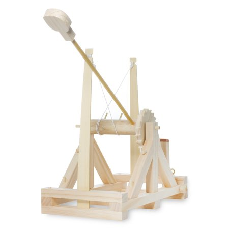 Catapult Kits (Thumbs Up! Da Vinci Catapult Kit, Wood, By)
