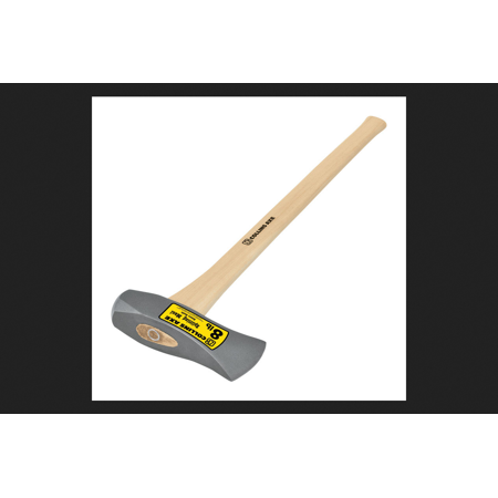 Collins 8 lb. Single Bit Forged Steel Splitting Maul 36 in. L Hickory (Hand Forged Axes)