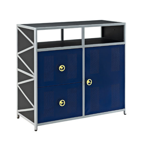 Powell Furniture Dune Buggy 2 Drawer 1 Door Accent Cabinet