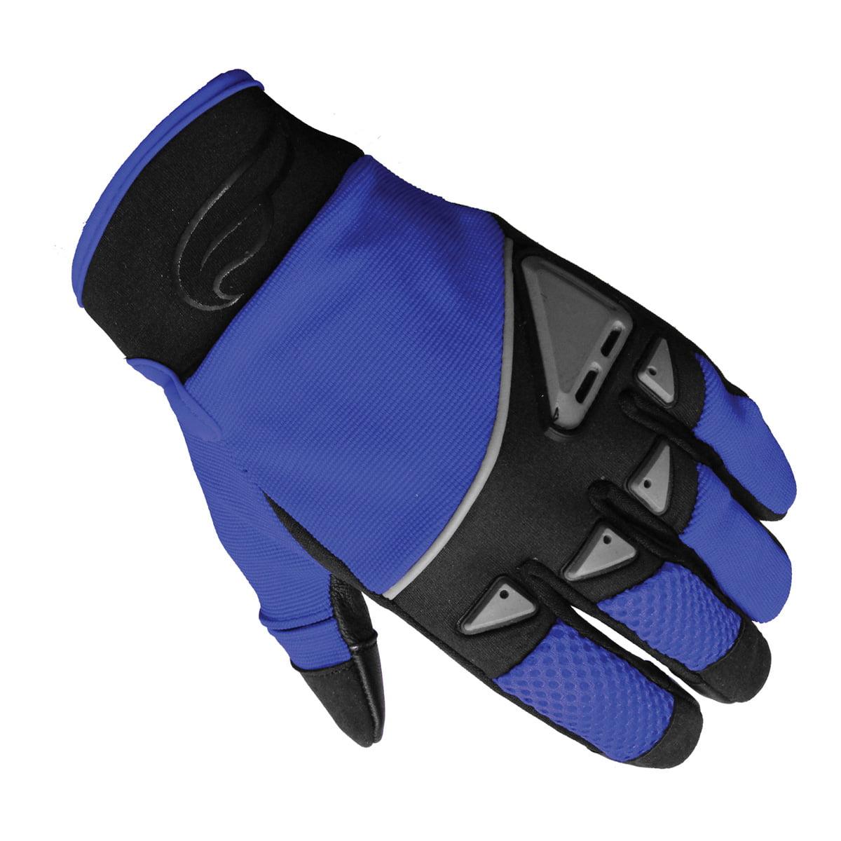 Men's Fulmer GT92 Gel Palm Gloves Motorcycle Riding MX Dirt Bike BMX ATV Trail