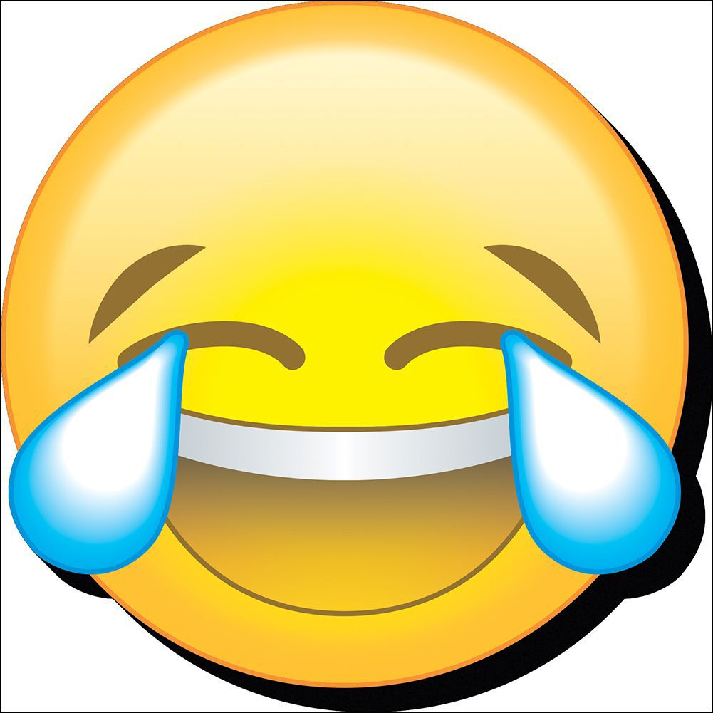 Emoji Laugh Cry Funky Chunky Magnet