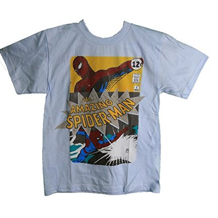 Marvel The Amazing Spiderman Youth Tee Shirt Small 6/8 - Amazing Spiderman Suit