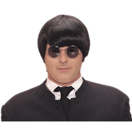 Black 60s Mod Adult Wig - 60s Mod Outfits