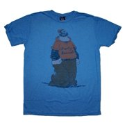 Popeye Party Animal Bluto Brutus Junk Food Vintage Style Soft T-Shirt Tee
