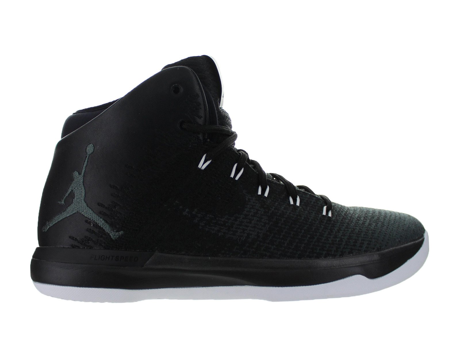 3110990f350 ... clearance mens air jordan xxxi 31 black cat anthracite black white  845037 010 85c05 e536b