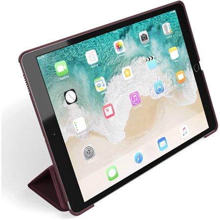 iPad Pro 10.5 (2017) Case, Snugg Leather Ultra-Thin iPad Pro 10.5 (2017) Protective Flip Stand Dusty-Cedar Red - image 2 de 4