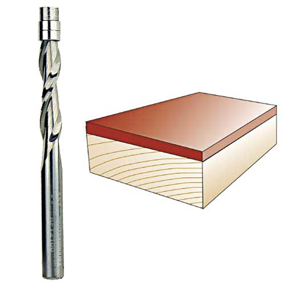 Whiteside Routeur Bits RFT2100 1//4 Pouces Diamètre Spirale Flush Trim Up Cut