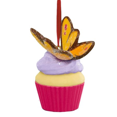 Hallmark Ornament 2016 Keepsake Cupcakes #11  - Fluttering Beauty