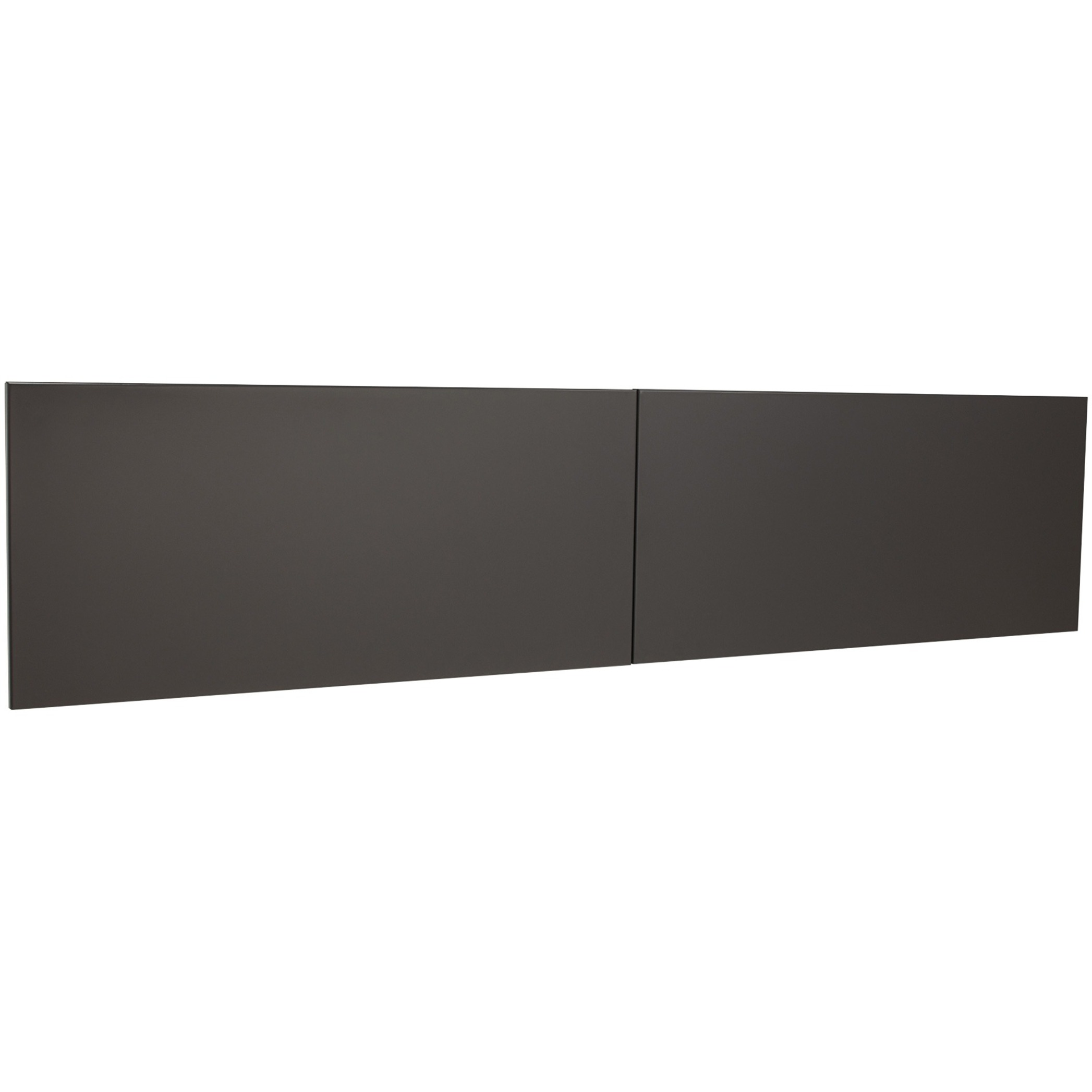 Lorell Stack-On Hutch Door Kit, Charcoal