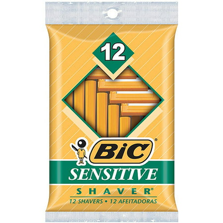 bic sensitive shaver disposable razor men 12 ct. Black Bedroom Furniture Sets. Home Design Ideas