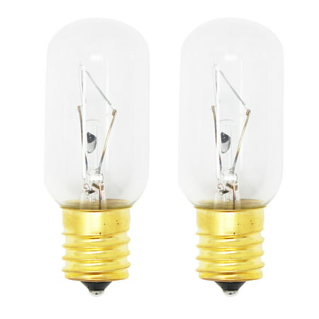 2-Pack Replacement Light Bulb for General Electric WB02X4253 Microwave - Compatible General Electric WB36X10003 Light