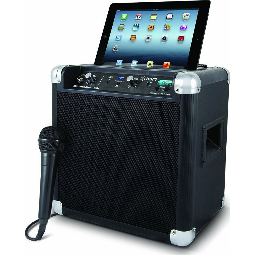 Ion Audio Tailgater Bluetooth Compact Speaker System with Microphone
