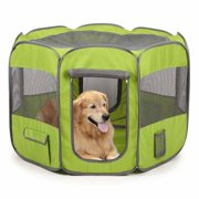 Insect Shield Fabric Exercise Pen Medium, Green