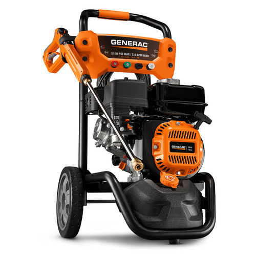 Generac 7019 196cc Gas 3,100 PSI 2.4 GPM Pressure Washer with PowerDial Gun by Generac