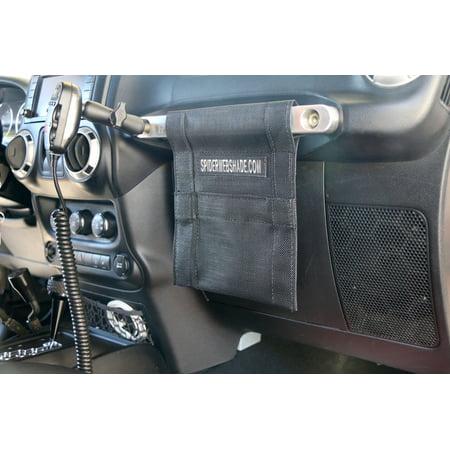 SPIDERWEBSHADE Jeep Wrangler Mesh GrabBag Passenger Accessory Storage Pouch OrganizerUSA Made with 5 Year Warranty