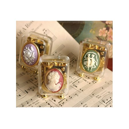 Victorian Trading Co. Cameo Music Boxes Collection - Set of 3 Keepsakes