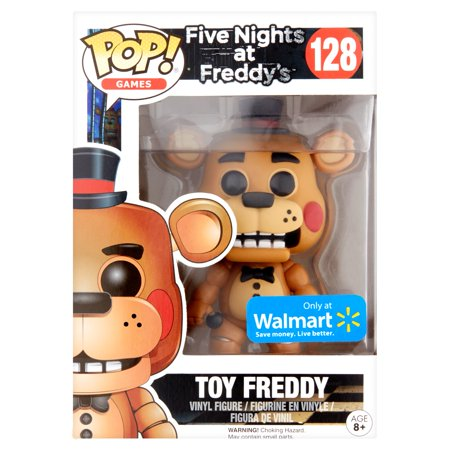 Pop! Games Five Nights at Freddy's 128 Toy Freddy Vinyl Figure Age 8+](Five Nights At Freddy's 4 Jumpscares Halloween)