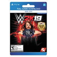 WWE 2K19, 2K, Playstation 4, [Digital Download]