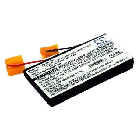 Cameron Sino 1400mAh Battery for Creative Labs Nomad Jukebox Zen, DAP-HDD004