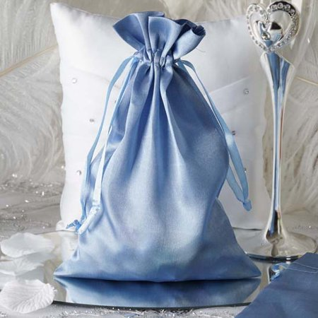 Efavormart 60PCS Satin Gift Bag Drawstring Pouch Wedding Favors  - 6