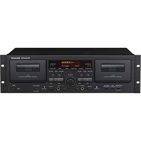 Tascam 202 MK VII Double Cassette Deck With USB ()