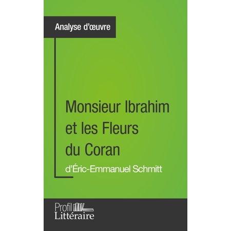 Monsieur Ibrahim et les Fleurs du Coran d'Éric-Emmanuel Schmitt (Analyse approfondie) -