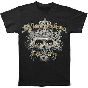 Michael Jackson Men's  Masquerade T-shirt Black