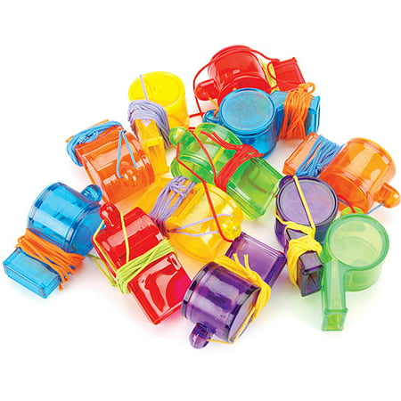 Party Whistle (Party Favors 12/Pkg-Sports)